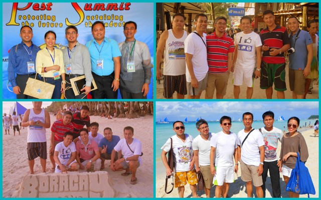 Pest Summit 2012, Pest Control Professionals in Boracay beach